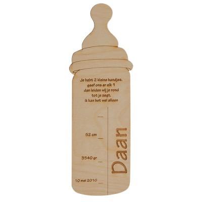 geboortekaartje-fles